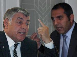 Belediye başkanı ile meclis üyesi tartıştı