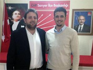 CHP gençlikte bayrak değişimi