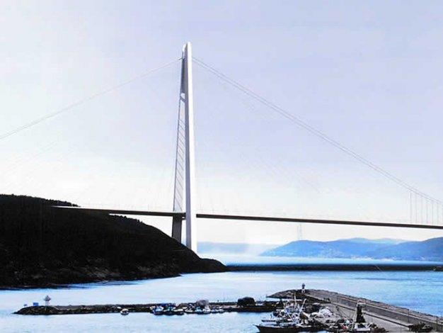 3.Köprüden ilk görüntüler