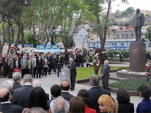 Haydar Aliyev Sarıyerde anıldı