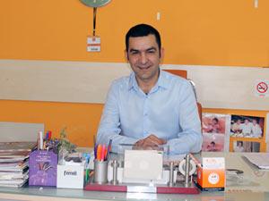 Ali İhsan Özdemir adaylığını açıklıyor