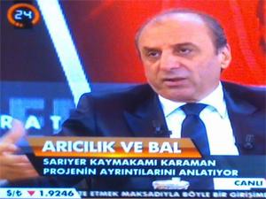 Karaman canlı yayında projelerini anlattı
