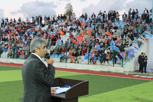 Ekrem Erdem Sarıyerde 5 bin kişiye konuştu