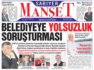 Sarıyer Manşetin 52.sayısı çıktı