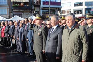 Atatürk Sarıyer'de anıldı