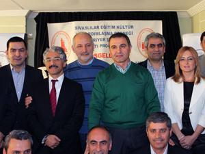 Sivaslılar seçim öncesi bir araya geldi