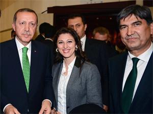 Başbakanla poz verdi