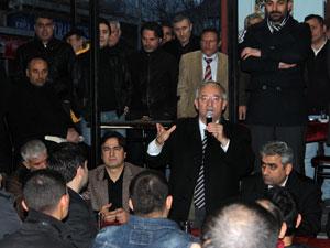 Çayırbaşında Sedat Özsoya sevgi seli