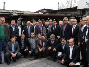 Sedat Özsoy Şebinkarahisarlılar ile buluştu