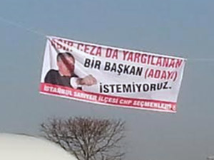 ANKARA'DAKİ ŞOK PANKART!