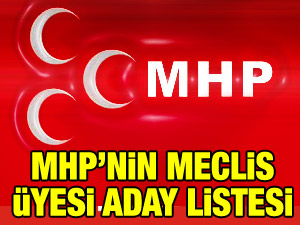 MHP Sarıyer Belediye Meclis Üyesi Aday Listesi