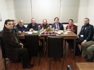 Ömer Faruk Özden SAMA-DER'e ziyaret