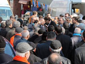 Köylerden Sedat Özsoya yoğun ilgi