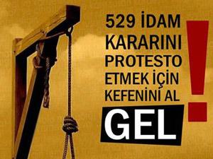 Ayasofyada 529 idam protestosu