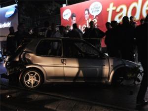 İstinyede korkunç kaza: 2 ölü