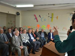 CHP İlçe Kongresinin provası gibi dernek kongresi