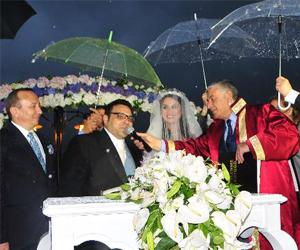 Okan Karacan Sarıyer'de evlendi!