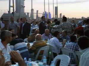MHP iftar sofrasını FSM'de kurdu