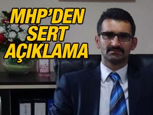 MHP'den sert açıklama