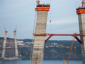3. Köprü inşaatında kaza: 1 ölü