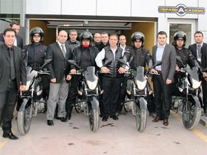 İSPARK'ta motorize ekipler iş başında