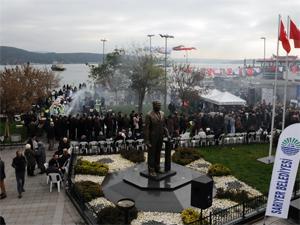 Sarıyerde balık ekmek festivali