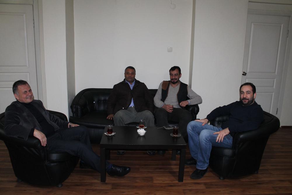 Mehmet Deniz'den Gazetecilere 10 Ocak ziyareti