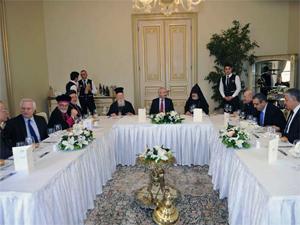Kılıçdaroğlu Sarıyerde ruhani liderlerle buluştu