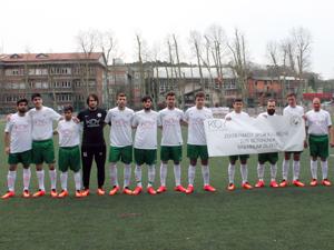 Siyahkalem'den Zekeriyaköy Spor Kulübüne destek