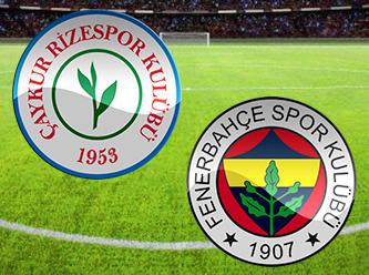 Fenerbahçe – Çaykur Rizespor