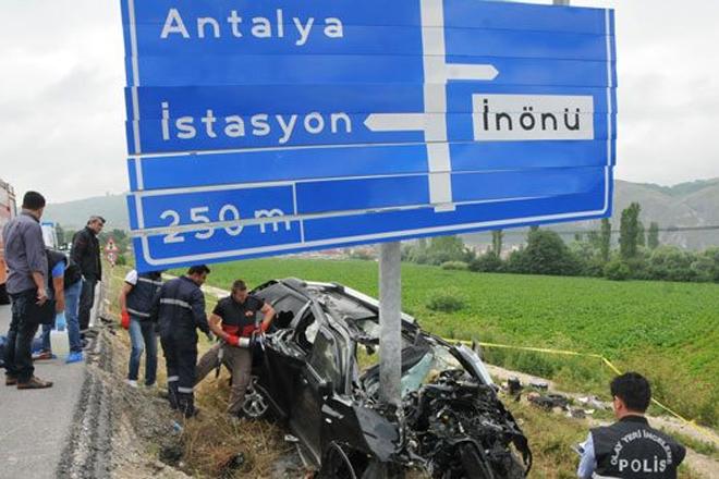 Sarıyer'i yasa boğan kaza!