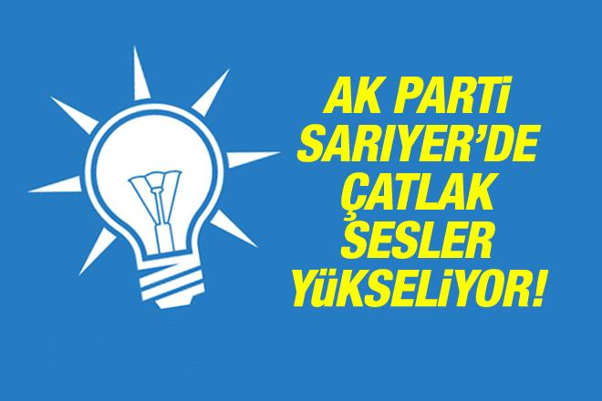 AK Parti'de çatlak sesler yükseliyor!