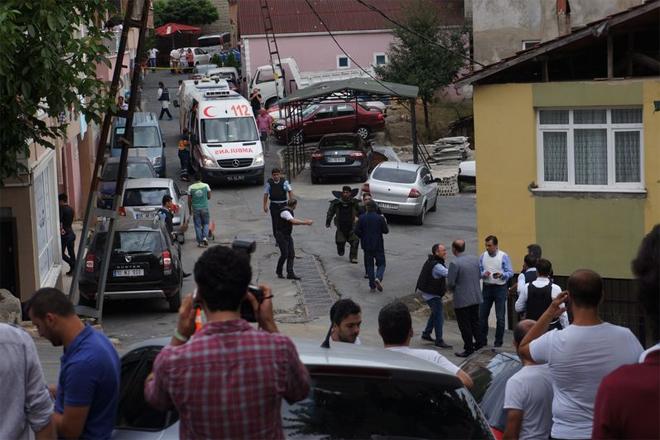 İstinye'de polise silahlı saldırı!