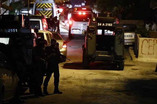 Sarıyer'de 'terör' operasyonu - VİDEO
