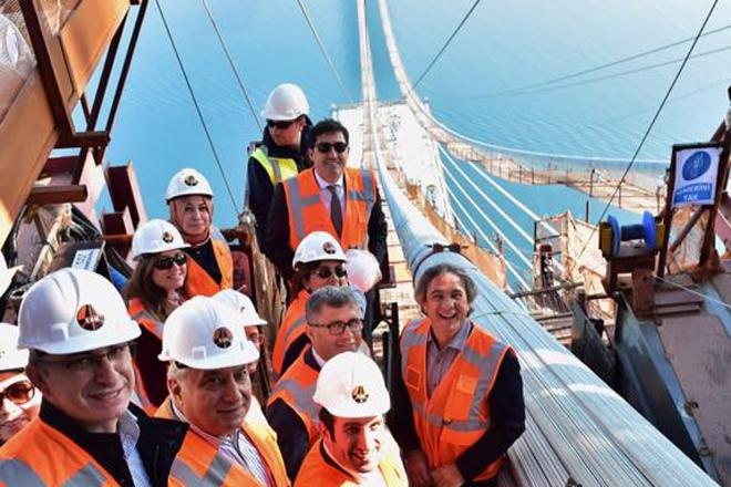 CHP'liler 3. Köprü'ye hayran kaldı