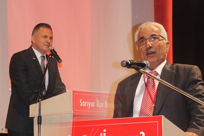 CHP kongresine damga vuran AK Partili...