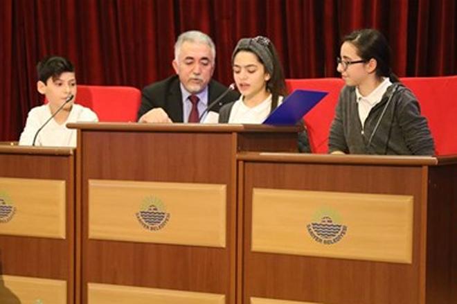Belediye Meclisini çocuklar yönetti