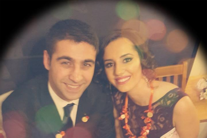 Merdan Ali Gürkan nişanlandı