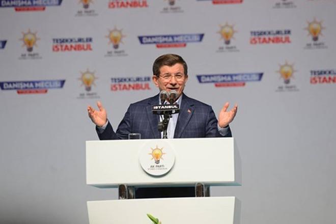 Davutoğlu'dan 39 ilçeye plaket