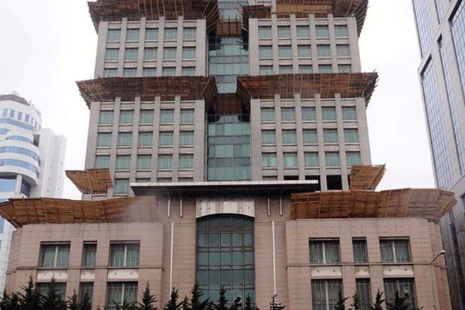 Maslak'taki o plaza yıkılıp yerine daha büyüğü yapılacak!