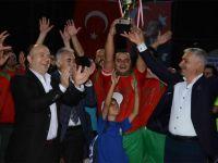 Derbent'in şampiyonu belli oldu