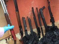 Sarıyer'de DHKP-C'nin eylem tüfekleri ele geçirildi
