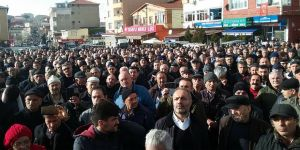 """FSM'de yüzlerce kişi """"Riskli Alan"""" kararını protesto etti"""