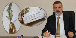 CHP'li Nadir Günday 5 bin fidan dağıttı