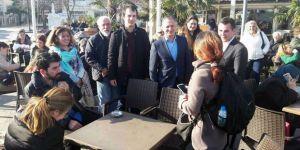CHP referandum çalışmasına Sarıyer Merkez'den başladı