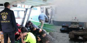 Sarıyer'de 2 milyon TL'lik kaçak sigara operasyonu