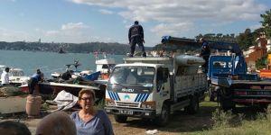 Balıkçılar Yenimahalle'deki boş alandan çıkartıldı