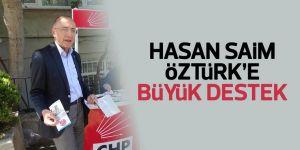CHP Sarıyer'de Hasan Saim Öztürk'e büyük destek