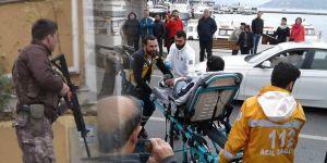 Sarıyer'de polisin dur ihtarına uymayan şahıs bacağından vuruldu!