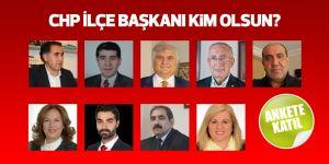 CHP Sarıyer İlçe Başkanı kim olsun? - ANKET